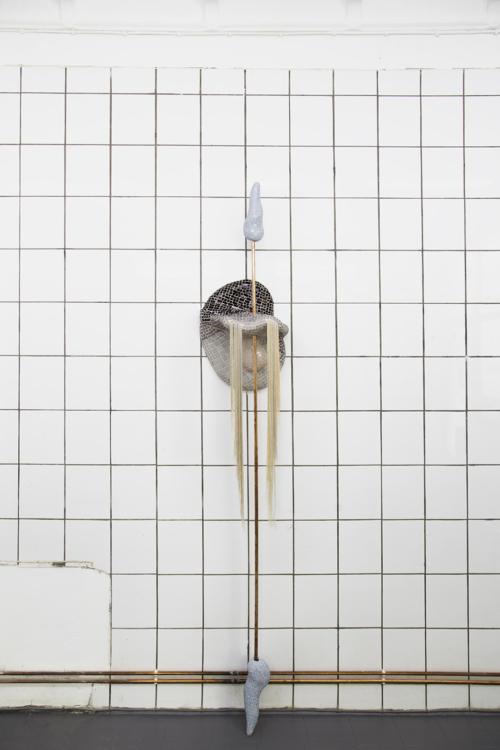 pohled do výstavy Éntomos: Hulačová – Keresztes – Janoušek, Colloredo-Mansfeldský palác, 2018. Foto Jiří Thýn