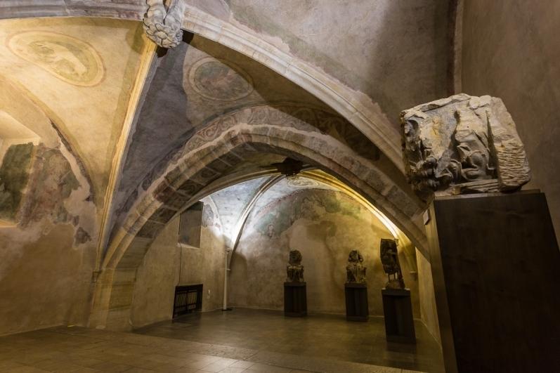 Dům U Kamenného zvonu, gotická kaple