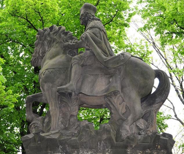 Jan Jiří Bendl, Pomník svatého Václava, Vyšehrad