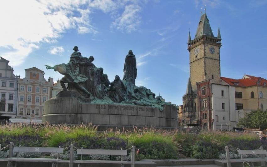 Ladislav Šaloun, Pomník mistra Jana Husa na Staroměstském náměstí, stav před restaurováním