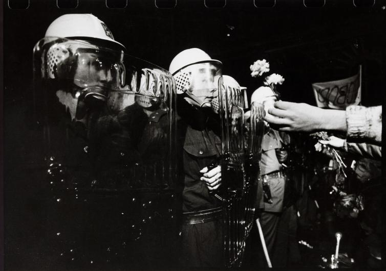 Pavel Štecha, 17. listopadu 1989, Praha