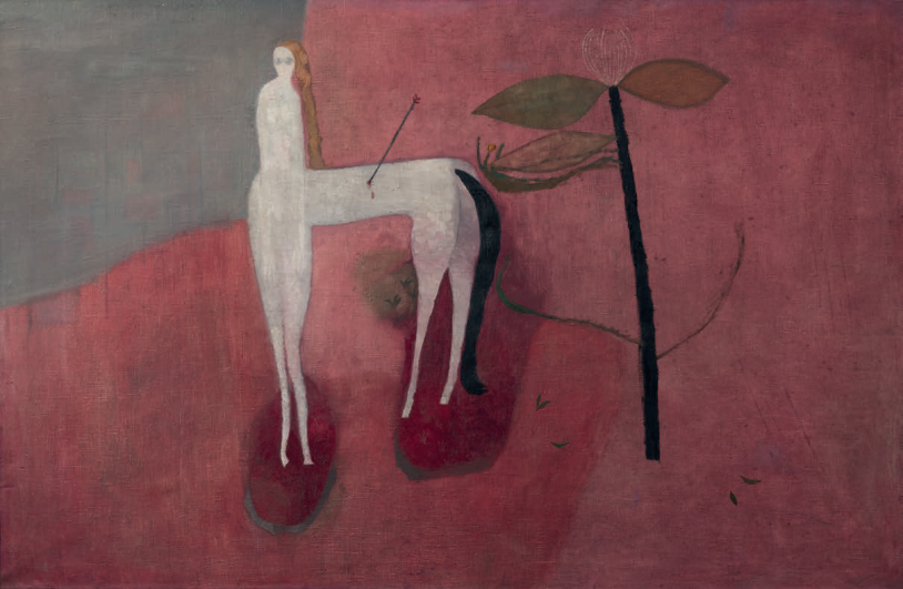 Lovecké rondo, 1958, olej, plátno, 104 × 152 cm, Museum Montanelli, Praha, foto Ota Palán