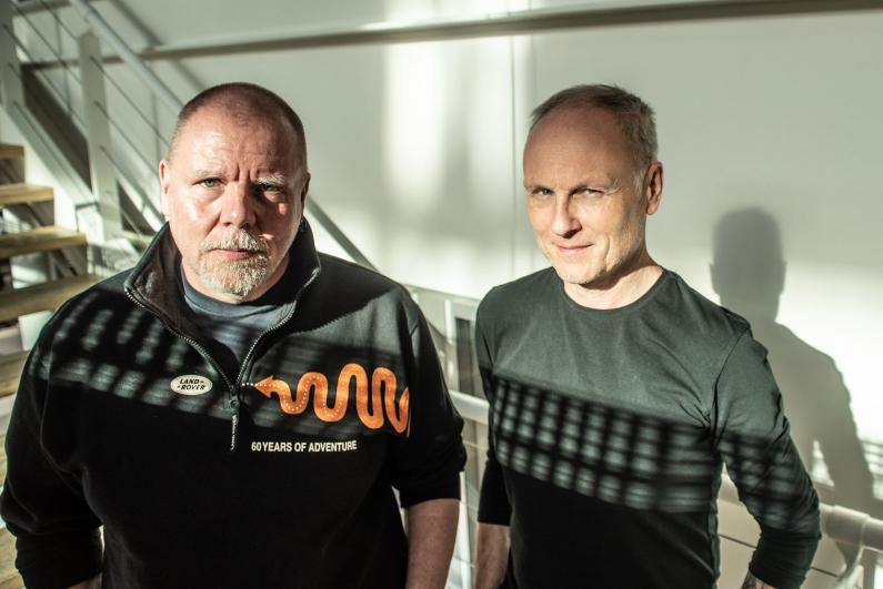 Jan Mihaliček a Petr Vizina, © Tomáš Kouba