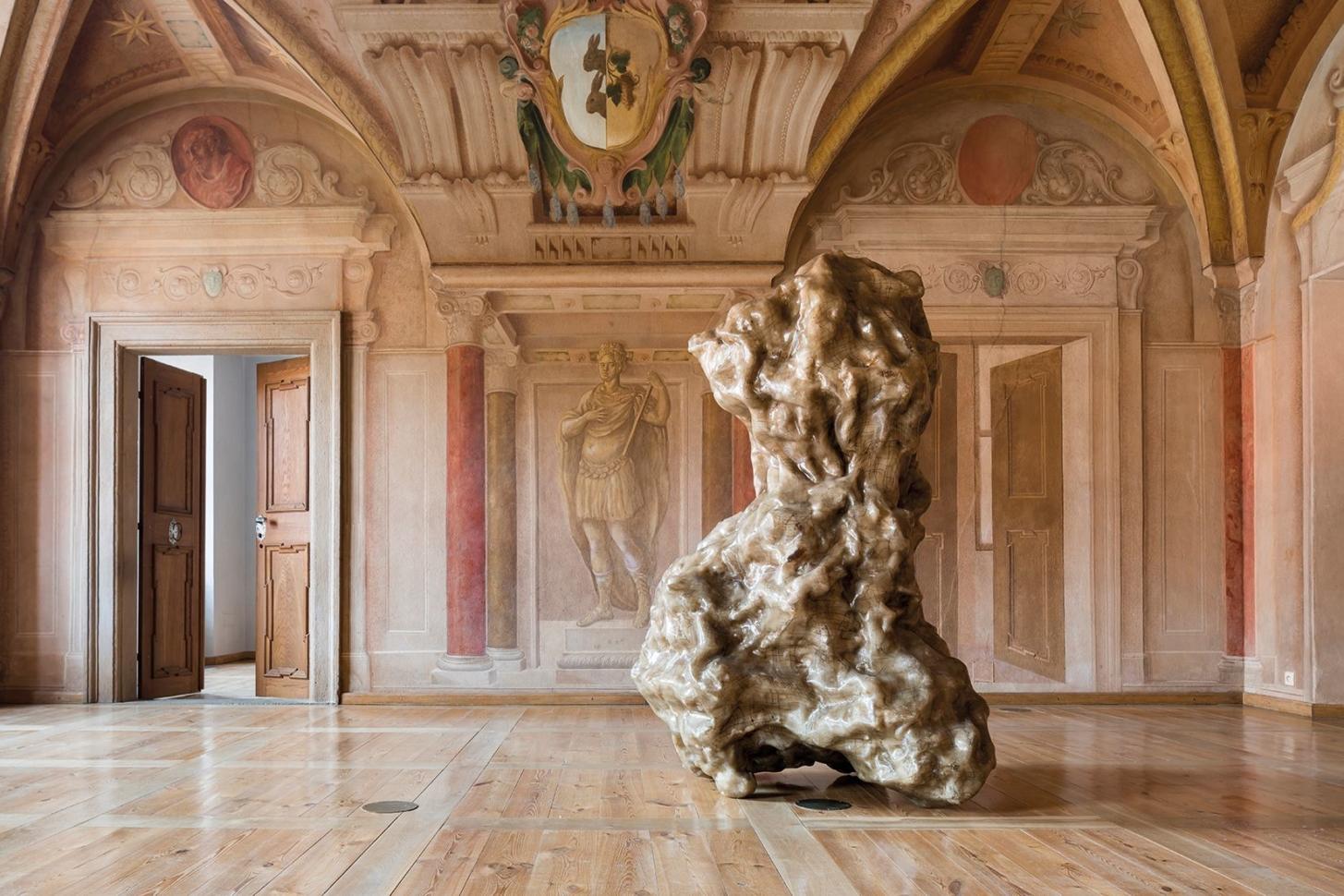 Jan Kovářík, Colorbond installation in Troja Château, 2020. Photo by Studio Flusser – Zdeněk Porcal