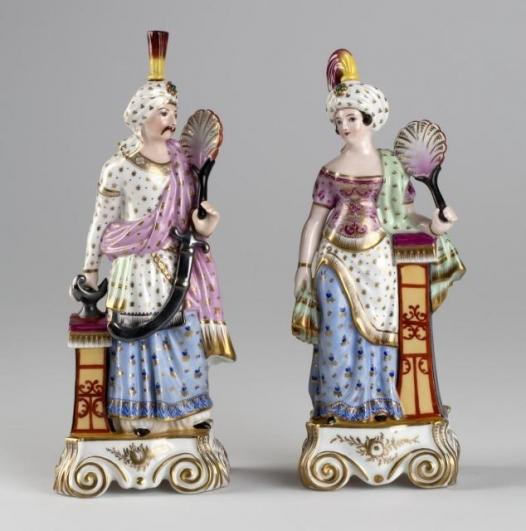 Ernst Popp, Muž a žena Orient, 1845−1852, Muzeum hlavního města Prahy