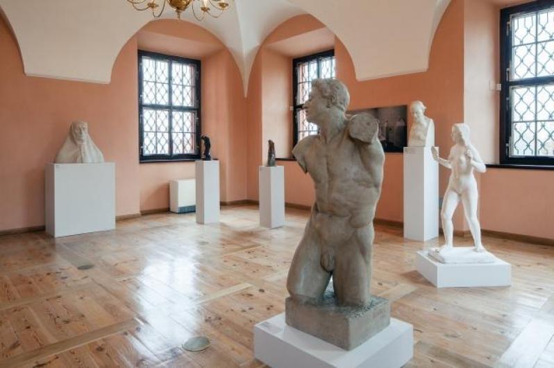 view to the exhibition Passion, Dream, Ideal, Troja Château, 2014. Photo by Tomáš Souček