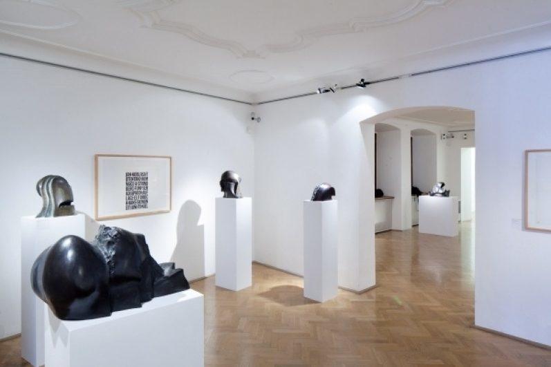 view to the exhibition Eden – Koblasa's Land, Golden Ring House, 2015. Photo by Tomáš Souček