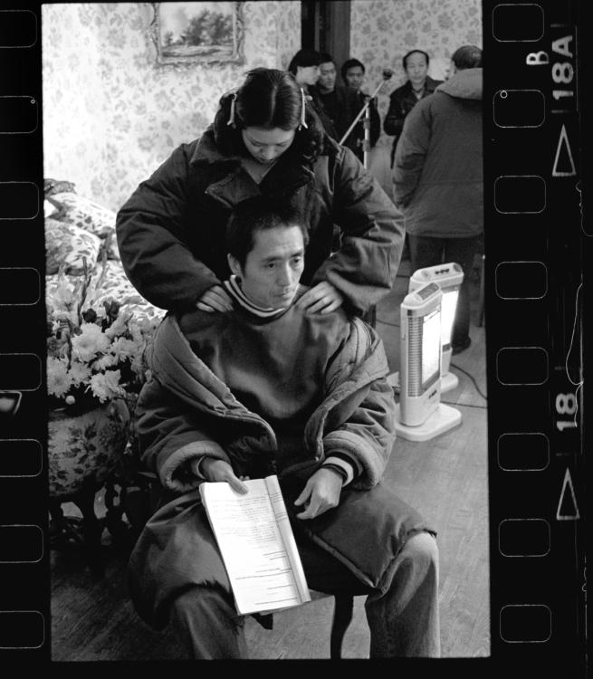 Xiao Quan, Zhang Yimou je znám až posedlou důsledností a pracovitostí, za kterou jej mnozí obdivují, 1995, Shanghai