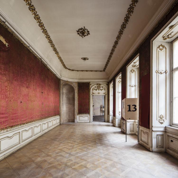 Colloredo-Mansfeld Palace – interior. Foto Tomáš Souček