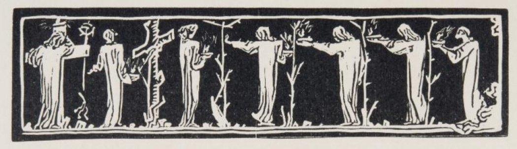 František Bílek, Záhlaví, 1905