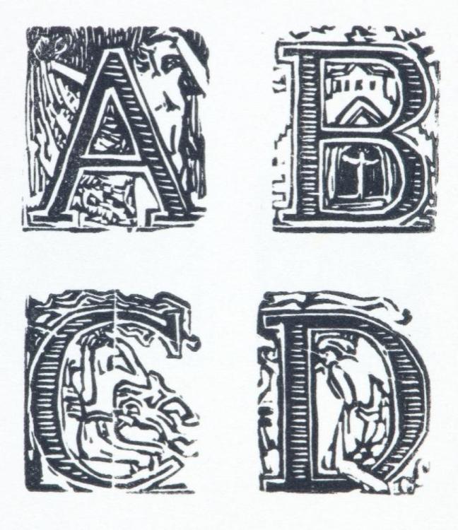 František Bílek, Abeceda, datace neurčena